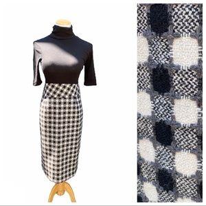 Grace Circle Pattern  High Waist Pencil Skirt